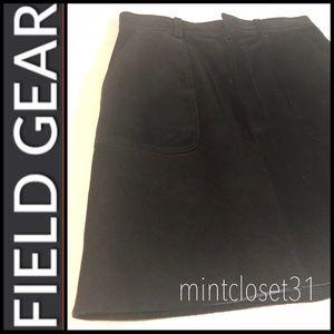 Field Gear Genuine Leather Skirt